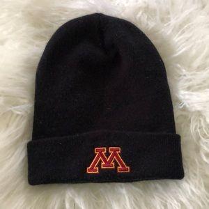 BOGO Minnesota Black knit Hat